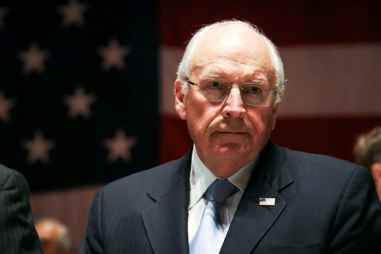 Dick Cheney attends the Federal Law Enforcement Foundation Luncheon in New York, Nov. 22, 2013.
