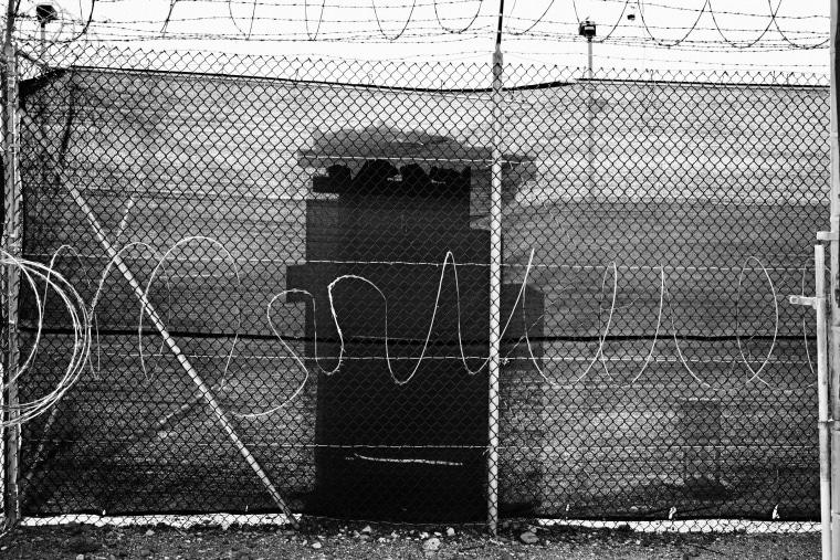 U.S. Naval Base and detention center in Guantanamo, Cuba, 2012.