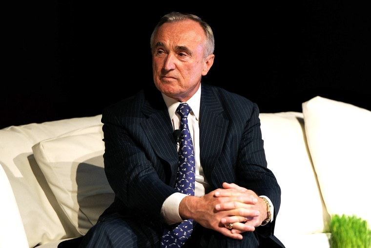 William J. Bratton attends the Wired business conferencein New York, June 14, 2010.