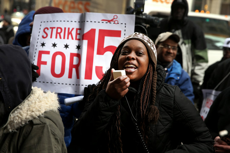 Fast Food Workers Organize Nat'l Walkout Over Low Wages