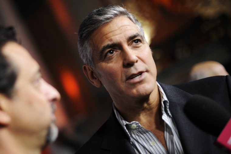 George Clooney in Hollywood, Calif., Nov. 8, 2013.