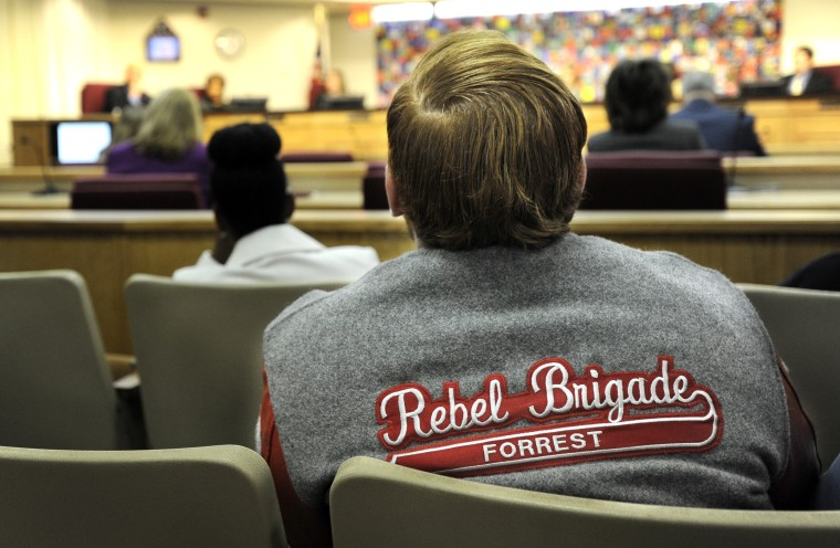 After extended public comments, members of the Duval County School Board voted unanimously Monday, Dec. 16, 2013 to accept School Superintendent Nikolai Vitti's recommendation that Nathan Bedford Forrest High School be renamed after years of controversy s