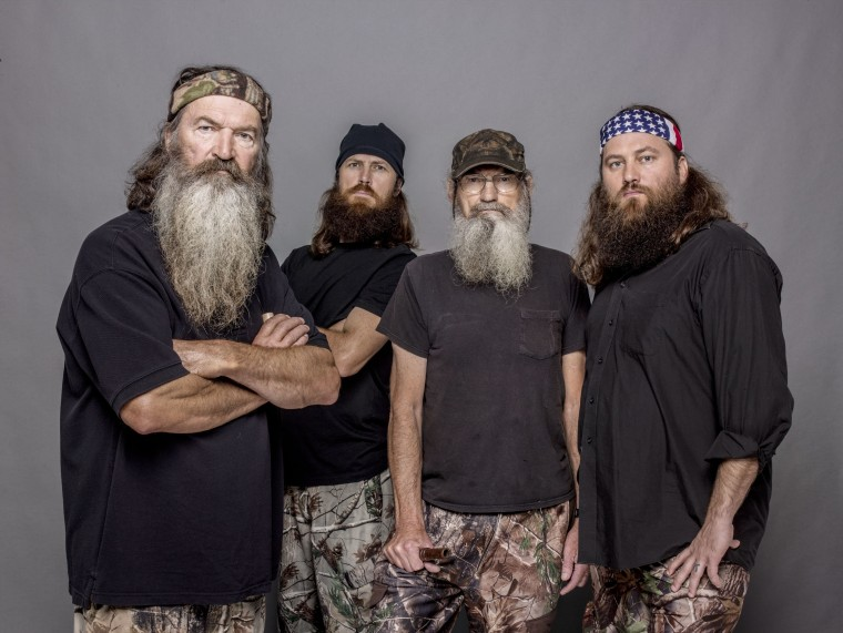 Phil Robertson of A&E's Duck Dynasty in a 2012 photo from A&E.