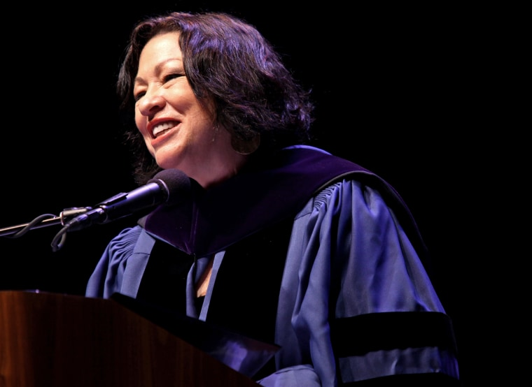 Associate Justice of the Supreme Court of the United States Sonia Sotomayor, June 4, 2010 in New York.