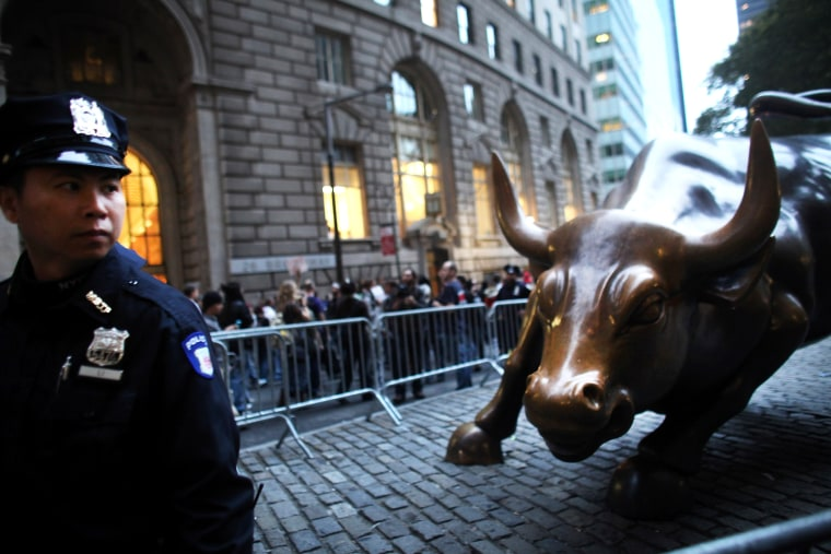 New York City Attempts To Remove Occupy Wall St Protestors From Park Encampment