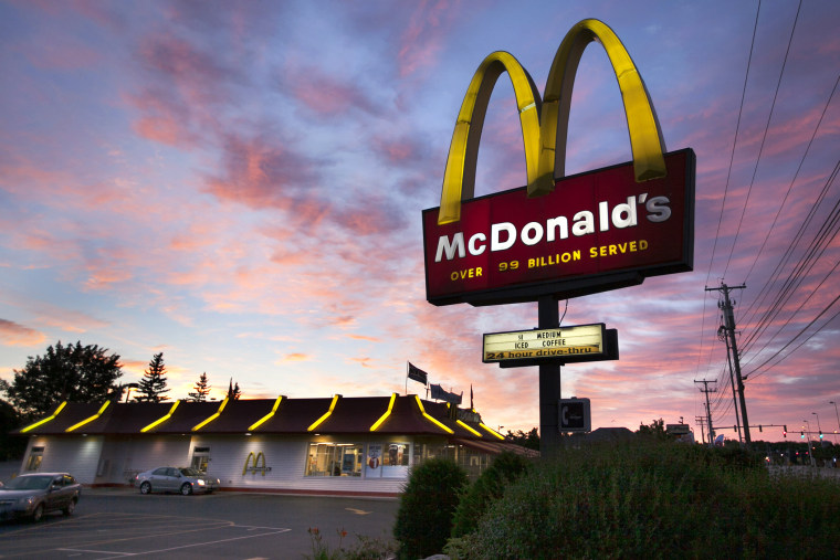 A McDonalds restaurant in South Portland, Maine, July 20, 2012.