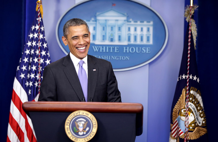 President Obama Holds News Conference Before Leaving For Hawaii