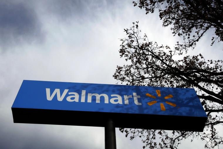 A Walmart store. (Lucy Nicholson/Reuters)