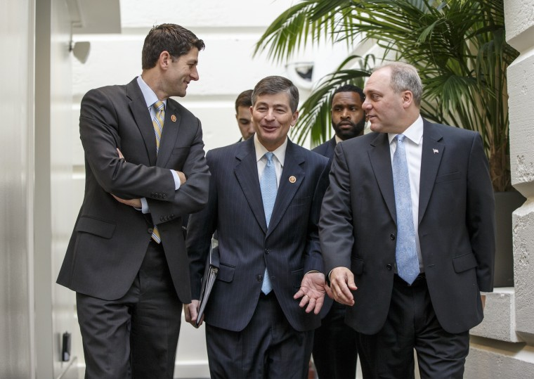 Paul Ryan, Jeb Hensarling, Steve Scalise