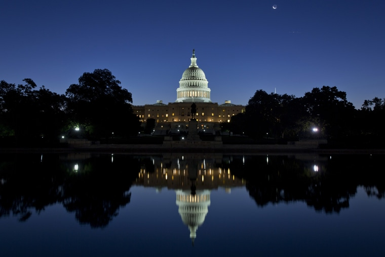 The U.S. Capitol on Oct. 2, 2013.
