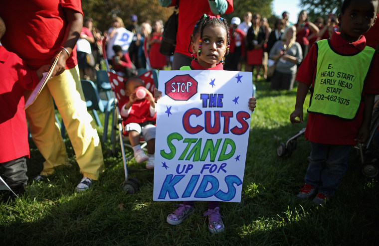 Capitol Hill Rally In Support Of Head Start Urges Congress To End Sequester
