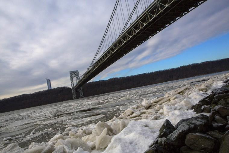 The George Washington Bridge is seen in New York January 8, 2014.