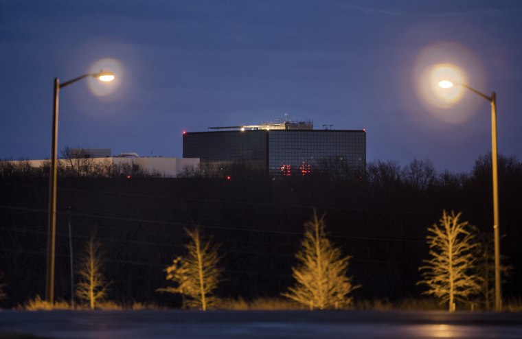 The headquarters of the National Security Agency (NSA) in Fort Meade, Maryland on Dec. 22, 2013.
