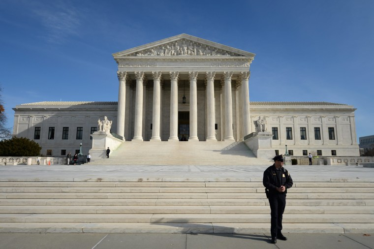 A general view of the U.S. Supreme Court in Washington, D.C., January 13, 2014.