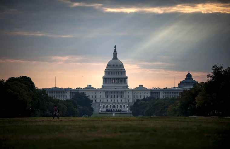 The U.S. Capitol building is seen in Washington on Oct 1, 2013.