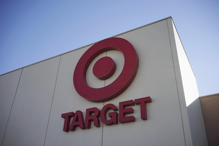 The sign outside the Target store is seen in Arvada, Colorado January 10, 2014.