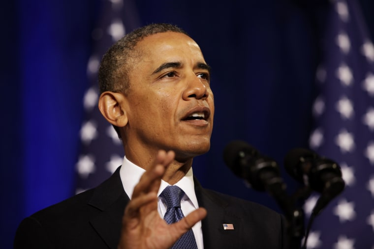 United States President Barack Obama delivers remarks on signals intelligence programs and how they can be used to protect national security while supporting...
