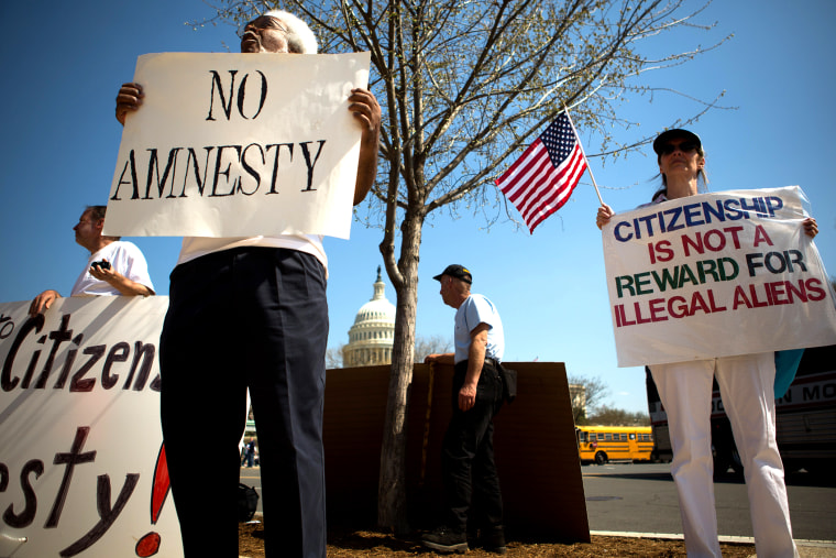 Anti-Amnesty Groups Rally Against Immigration Reform In DC