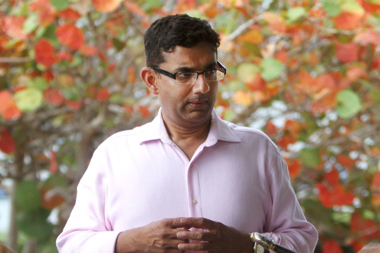 Dinesh D'Souza in St. Petersburg, Fla., April 17, 2013.
