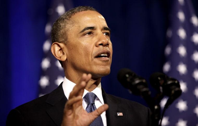 President Barack Obama delivers remarks, Jan. 17, 2014, in Washington, D.C.