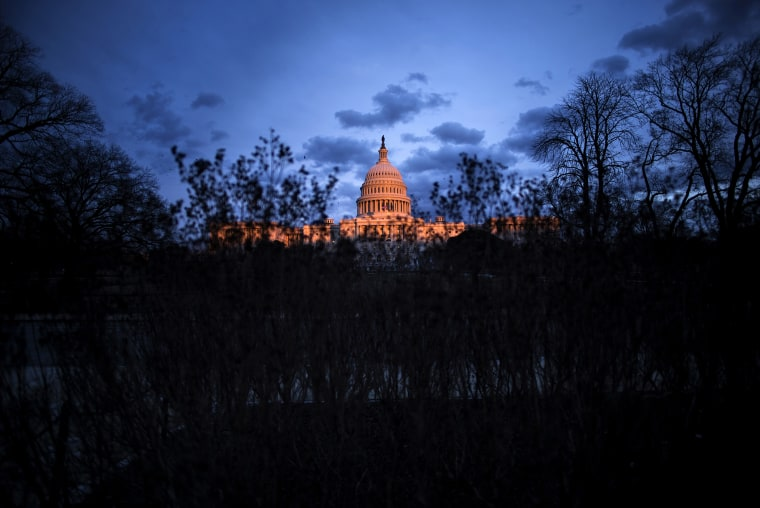 A view of the US Capitol, Jan. 27, 2014 in Washington, D.C.