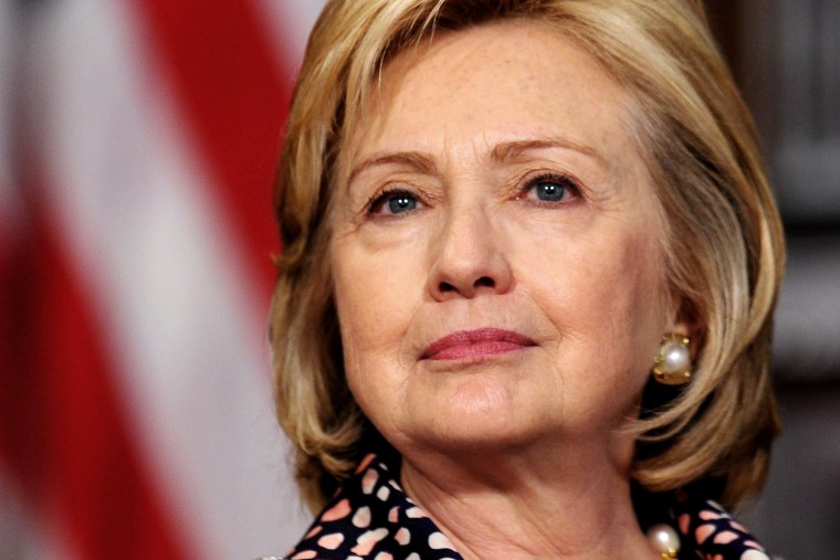 Hillary Clinton speaks in Washington on Nov. 15, 2013.