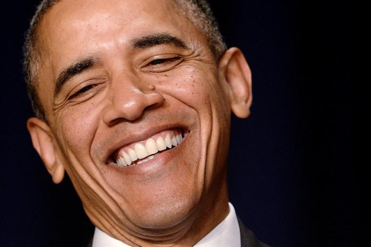 President Obama attends the National Prayer Breakfast
