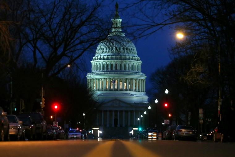 The U.S. Capitol, Jan. 28, 2014, in Washington, DC.