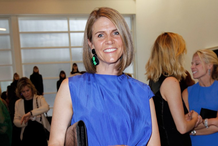 Colleen Bell attends a cocktail reception at Gagosian Gallery in L.A. on May 3, 2013.