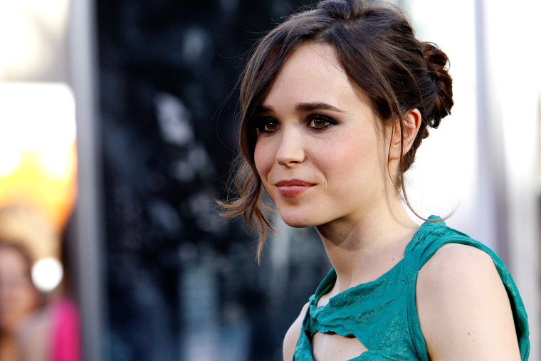 Ellen Page at an event in Hollywood, Calif.