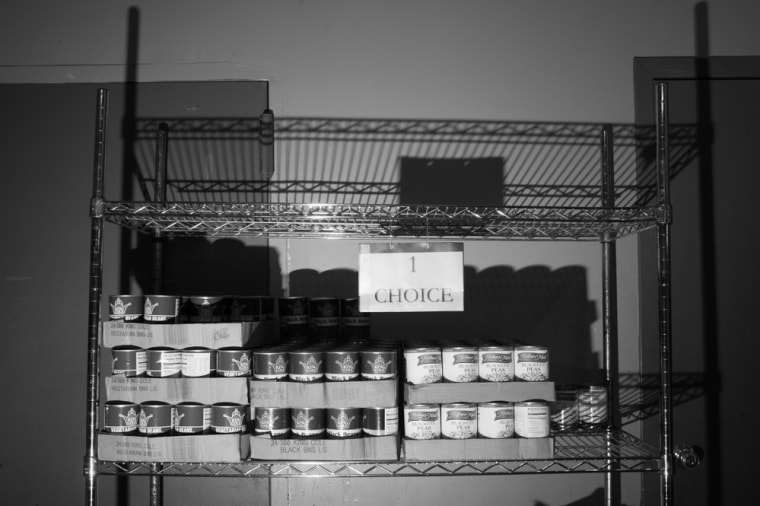 The Bed-Stuy Campaign Against Hunger food pantry, in Brooklyn, New York.