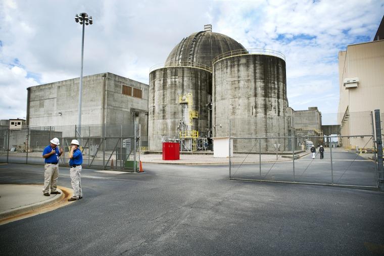 Plant Vogtle, a nuclear power plant near Augusta, GA.