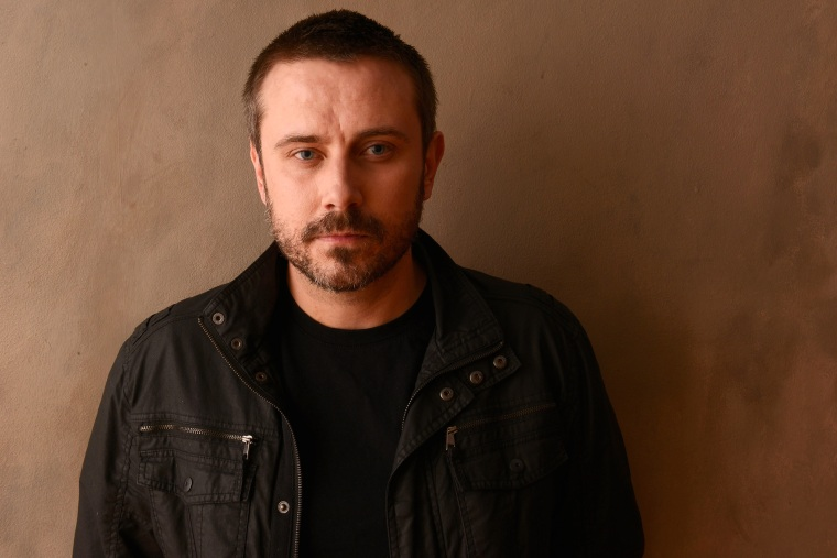 Jeremy Scahill poses for a portrait during the 2013 Sundance Film Festival, Jan. 22, 2013 in Park City, Utah.