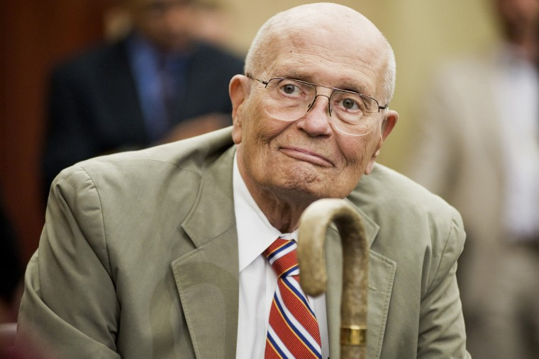 Rep. John Dingell, at a news conference in Washington on July 27, 2011.