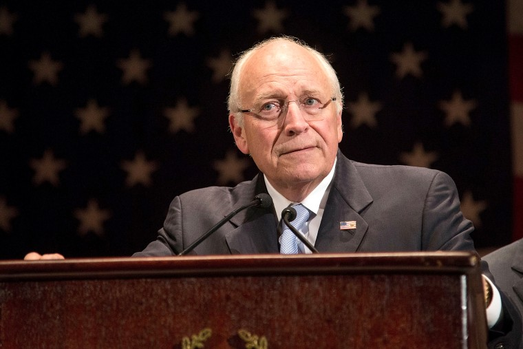 Dick Cheney attends an event, Nov. 22, 2013, in New York, NY.
