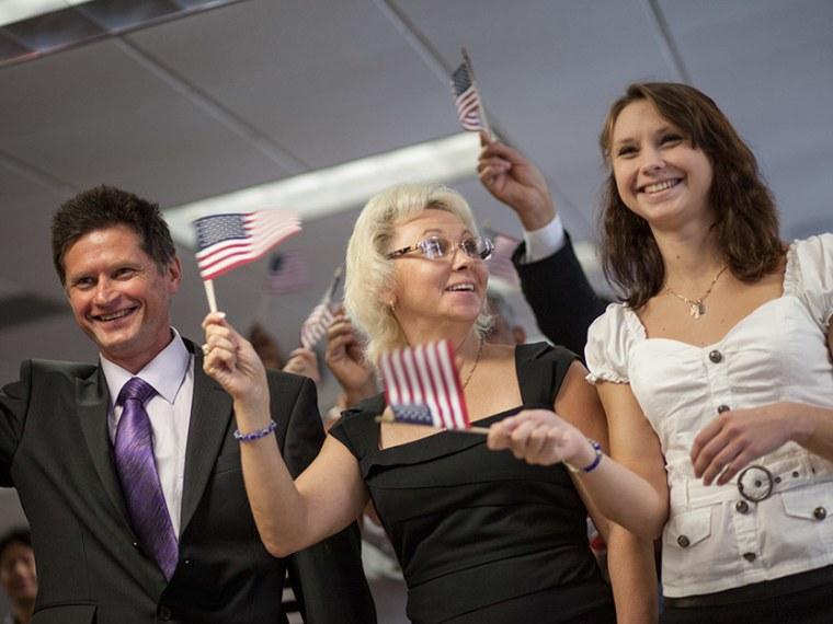 Russian Figure skater family citizenship - Michelle Richinick - 08/17/2013