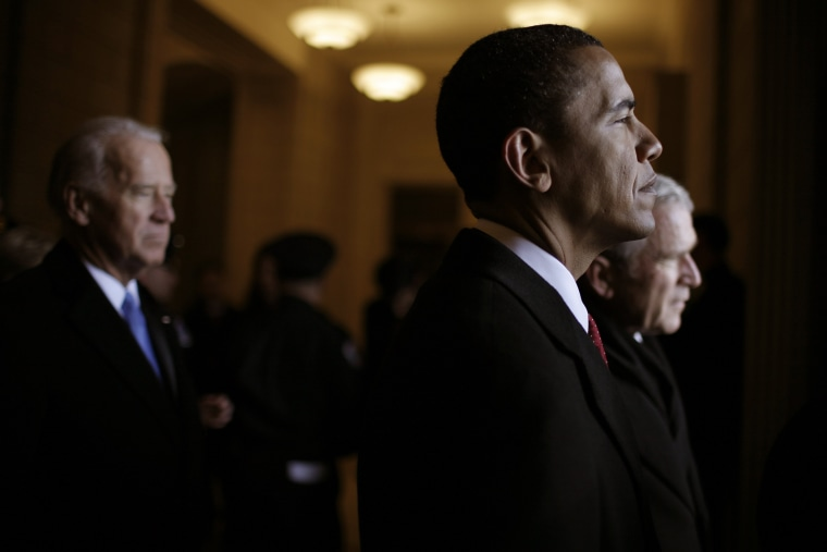 Behind The Scenes Of President Barack Obama's Inauguration