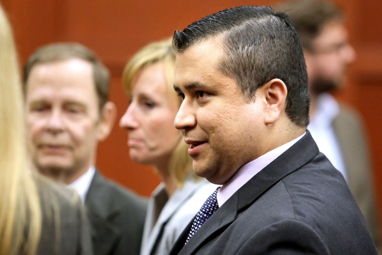 George Zimmerman leaves the courtroom after being found not guilty, on the 25th day of Zimmerman's trial at the Seminole circuit court in Sanford, Florida, July 13, 2013.