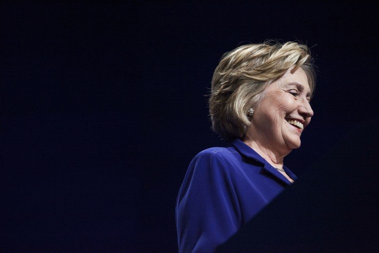 Hillary Clinton welcomes more than 1,000 College Students Leaders for the 2014 Meeting of the Clinton Global Initiative University at Arizona State University in Tempe, Mar. 21, 2014.