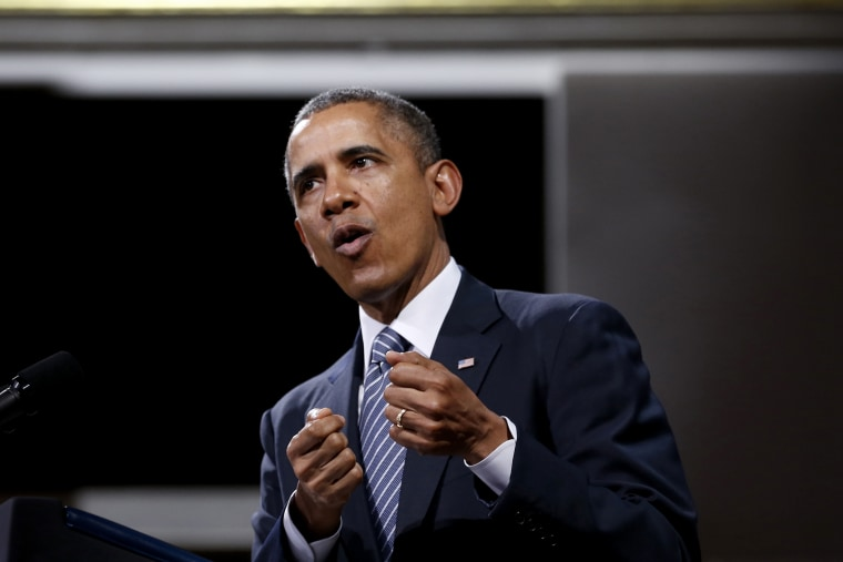 U.S. President Barack Obama delivers a speech Palais des Beaux-Arts in Brussels, Belgium on March 26, 2014.