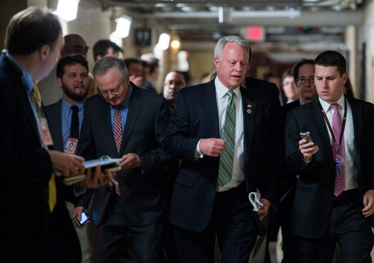 House Republican Conference meeting with President Barack Obama