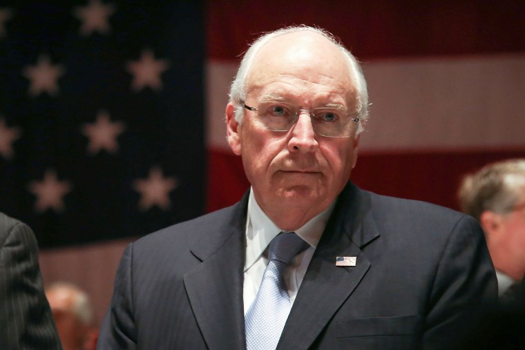 Dick Cheney attends an event in New York, N.Y., Nov. 22, 2013.
