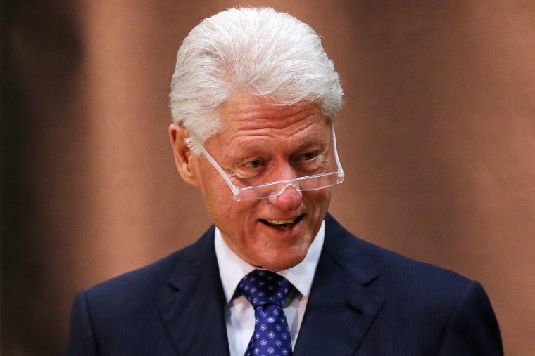 Bill Clinton delivers the inaugural William J. Clinton Leadership Lecture in Belfast, Mar. 5, 2014.
