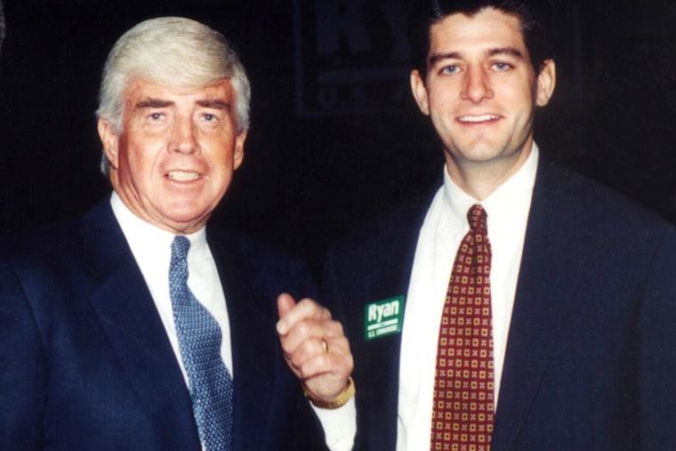 Paul Ryan, Jack Kemp