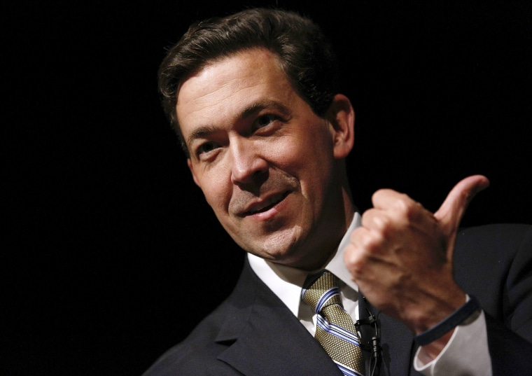 Mississippi Senator Chris McDaniel speaks during a town hall meeting in Ocean Springs, Mississippi March 18, 2014.