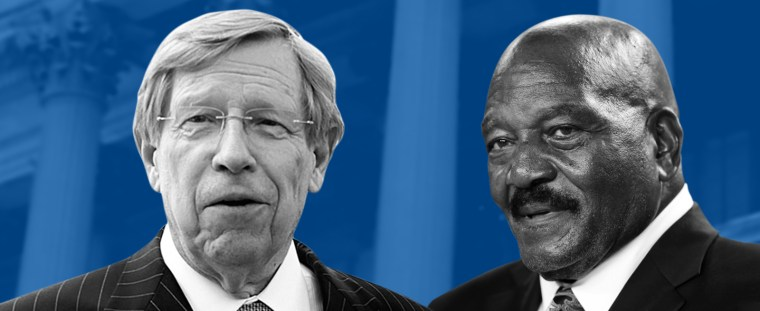 Ted Olson (L) and Jim Brown (R)