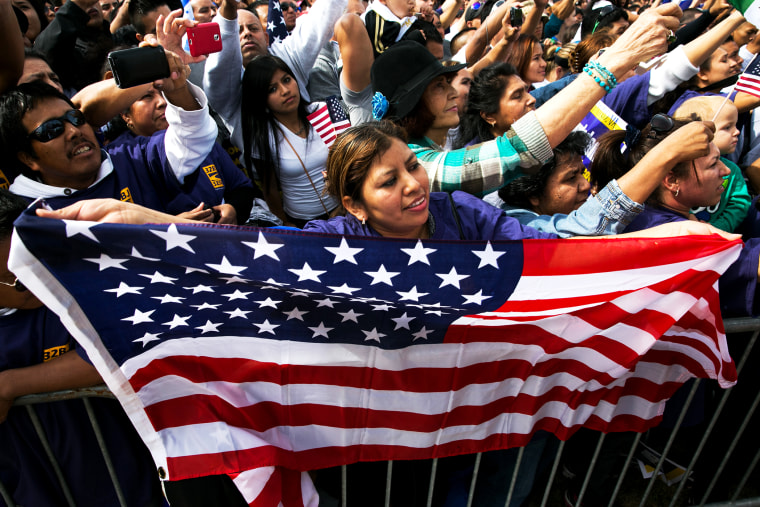 Activists From Across The Country Hold March For Immigration Reform