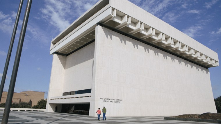 The L.B.J. Presidential Library and Museum in Austin, Texas.