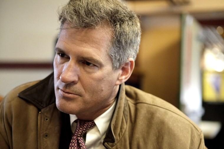 Then-Sen. Scott Brown in Princeton, Mass., on Jan. 17, 2012.