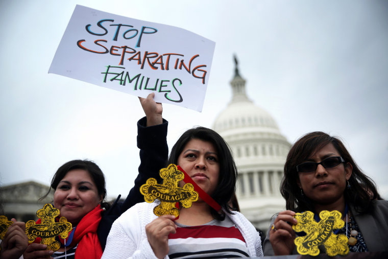 Immigration Reform Activists Lobby On Capitol Hill